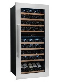 AVINTAGE AVI81XDZ Cantina integrabile a colonna 79 bottiglie 123cm Inox/Vetro