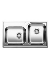 BLANCO 1618457 Lavello Median 9 Advanced-IF 2 vasche 86x50cm Acciaio Inox