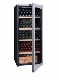 La Sommelière VIP265V cantina vino Libera installazione Nero, Argento 265 bottiglia bottiglie A