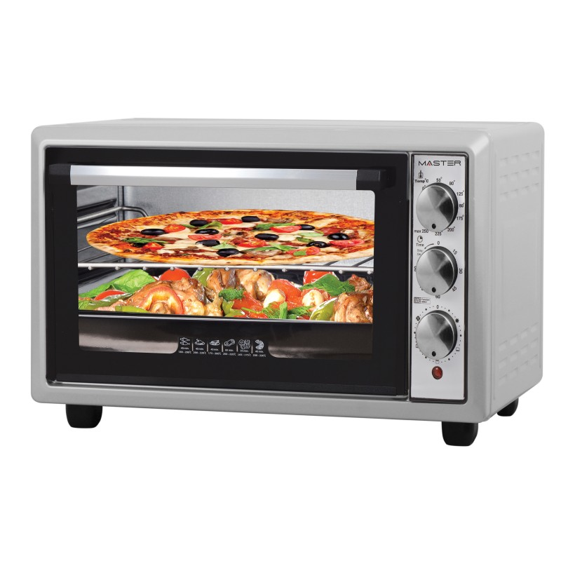 Image of Master FE325LX fornetto con tostapane 32 L Argento 1300 W
