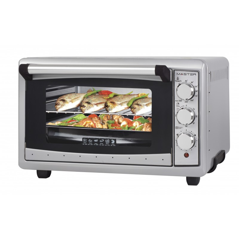 Image of Master FE425LX fornetto con tostapane 42 L Argento 1300 W
